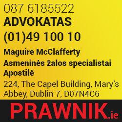 Advokatai, asmeninės žalos specialistai Airijoje