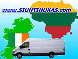 Siuntinukas.com siuntų pervežimai Lietuva Airija Lietuva. Patikimiausi pervežimai.