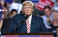 JAV prezidentas Donald Trump lankysis Airijoje