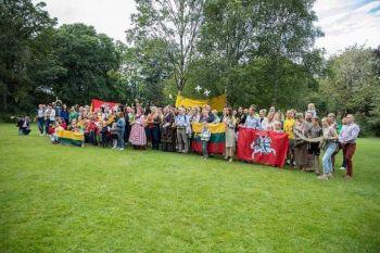 Lietuvos valstybės dieną Tautiška giesmė skambėjo visoje Airijoje