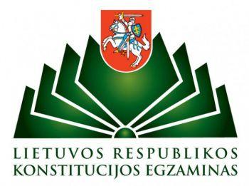 Lietuvos Respublikos Konstitucijos egzaminas 2019